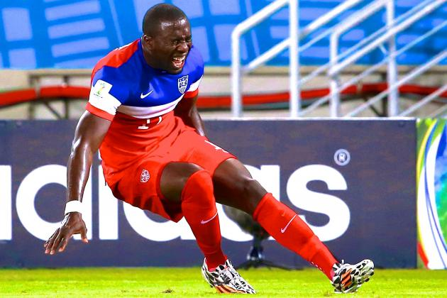 Jozy Altidore Ruled out for USA vs. Portugal in 2014 World Cup