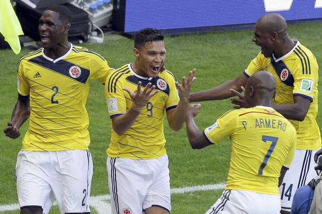 Colombia vs. Ivory Coast: Live Player Ratings