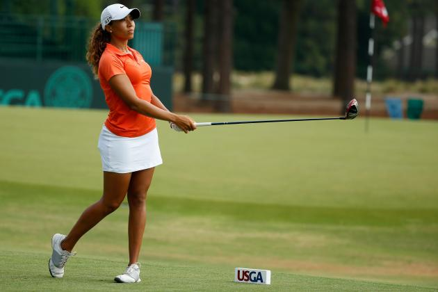 Cheyenne Woods at US Women's Open 2014: Daily Scores and Leaderboard Updates