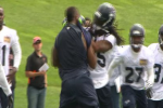 Richard Sherman in Fight at Seahawks' Minicamp