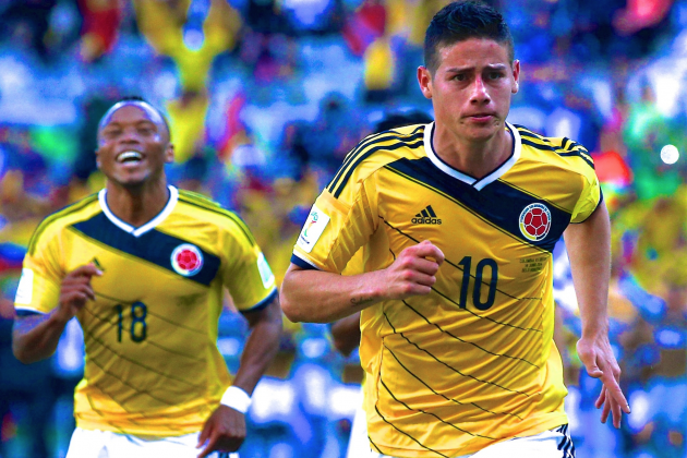 Colombia vs. Ivory Coast: Live Score, Highlights for World Cup 2014 Group C Game