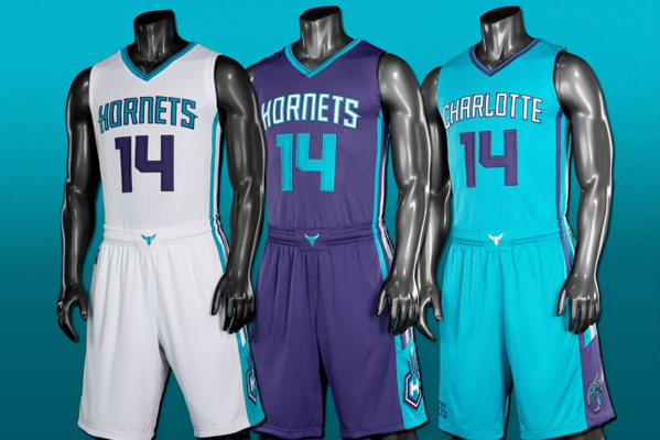 Charlotte Hornets Unveil New Modern Uniforms for 2014-15 Season