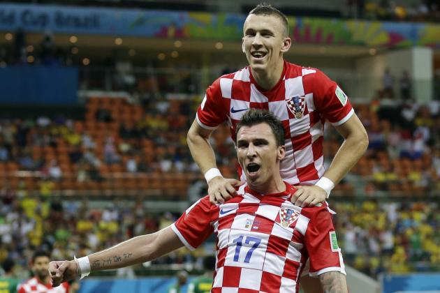 Arsenal Should Snap Up Croatia Duo Mario Mandzukic and Ivan Perisic This Summer