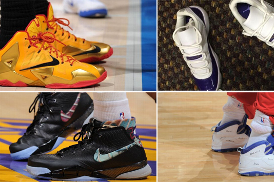 The 12 Defining Sneaker Moments of the 2013-2014 NBA Season