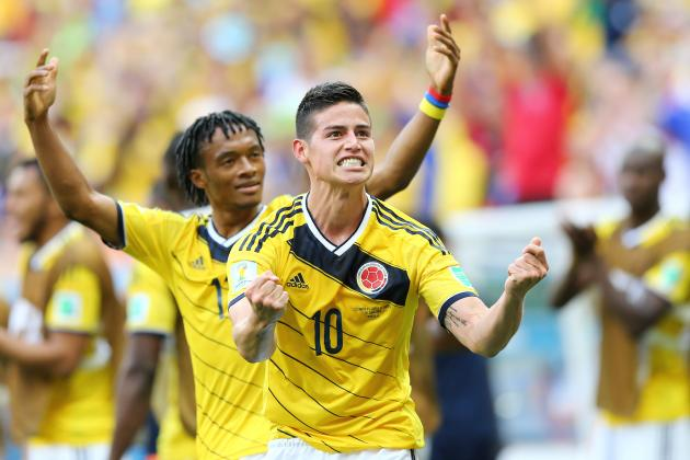 Colombia vs. Ivory Coast: James Rodriguez & Cuadrado Star in Transition Football