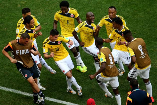 World Cup Results 2014: Tracking Final Scores, Golden Boot Contenders for Day 8
