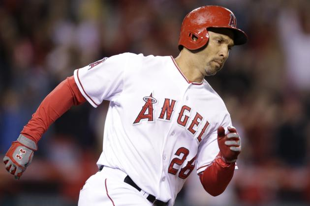 Angels' Use of Raul Ibanez over C.J. Cron at DH Draws Criticism