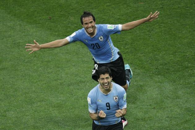 Uruguay vs. England: Live Player Ratings