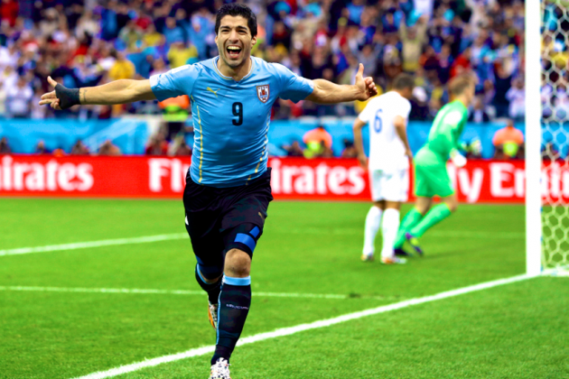 England vs. Uruguay: Live Score, Highlights for World Cup 2014 Group D Game