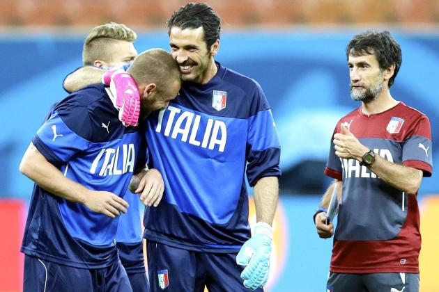 Salvatore Sirigu Has Talent, but Italy Need Gigi Buffon to Win This World Cup