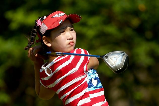 Lucy Li Flashes Immense Potential at 1st Round of U.S. Women's Open