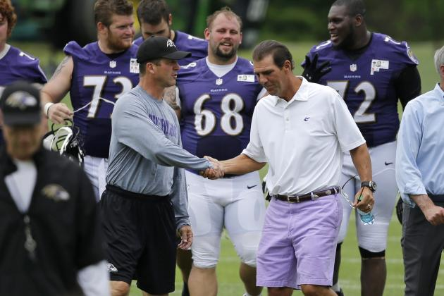 Ravens' Harbaugh: 'Have Really Good Guys'