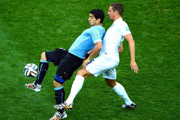 Uruguay vs. England: Suarez Proves Everything Tabarez Missed vs. Costa Rica