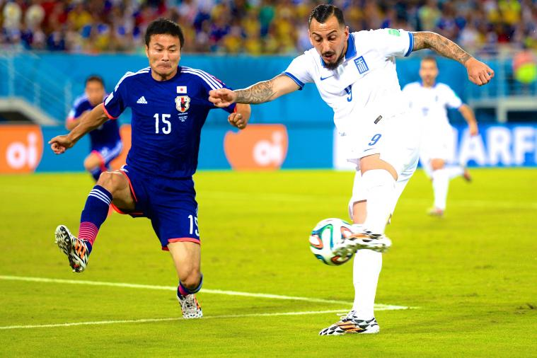 Japan vs. Greece: Live Score, Highlights for World Cup 2014 Group C Game