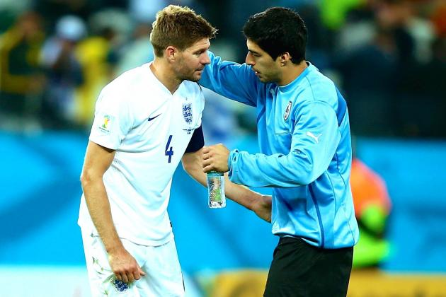 Luis Suarez Proves the Difference to Leave England's World Cup Hopes in Tatters