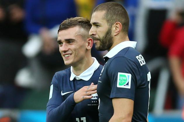 Griezmann: You Can Send Benzema a Missile and He'll Control It