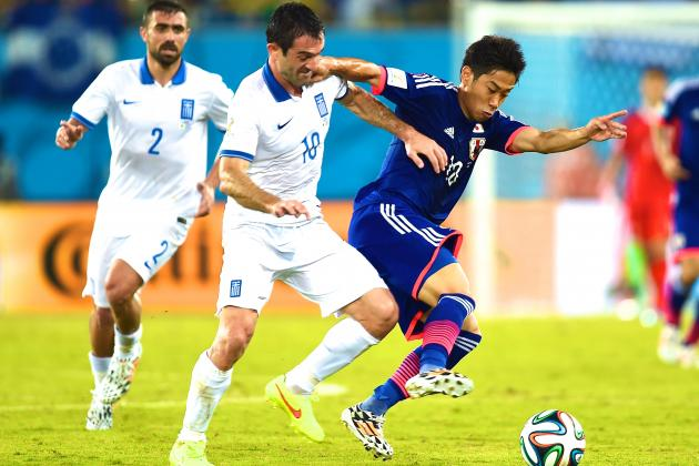 Japan vs. Greece: World Cup Group C Score, Grades & Post-Match Reaction