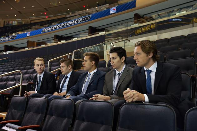 Should the Toronto Maple Leafs Trade Up in the 2014 NHL Draft?