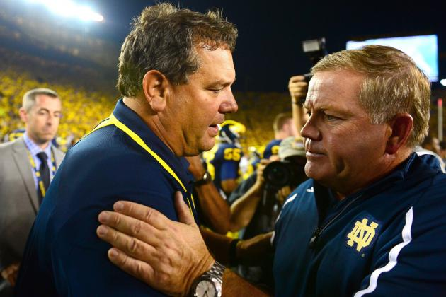 Notre Dame Avoiding Big Ten Looking Better by the Day