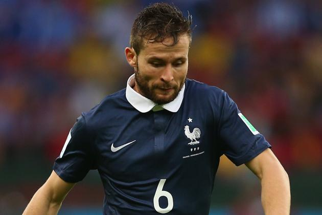 Yohan Cabaye Fit to Return for France in Vital Game Against Switzerland