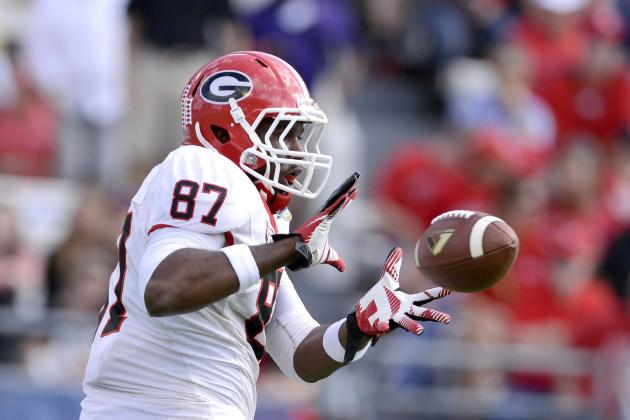 Georgia Football: Is Tight End the Bulldogs' Weak Link on Offense?