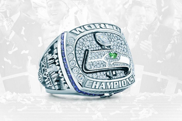 Seahawks Receive Super Bowl Rings