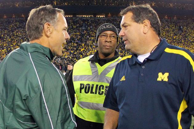 Michigan Football: Is Brady Hoke Losing the State to Michigan State?