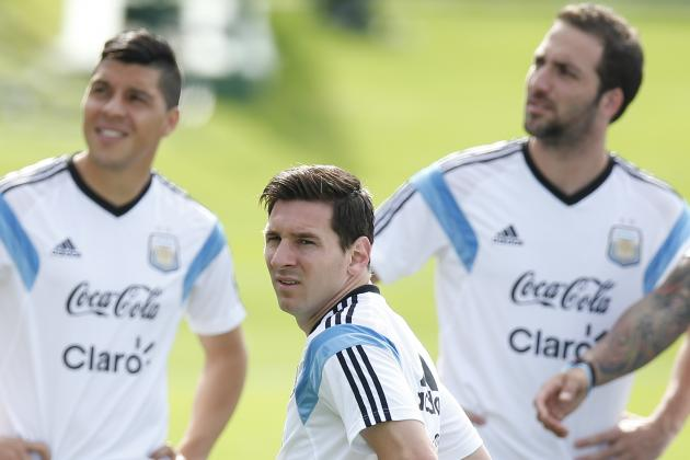 Argentina vs. Iran: Date, Time, Live Stream, TV Info and 2014 World Cup Preview