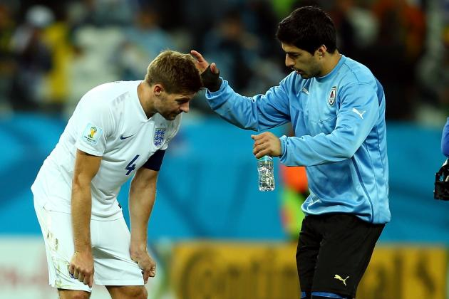 Steven Gerrard, Daniel Sturridge, Roy Hodgson React to England's Loss to Uruguay