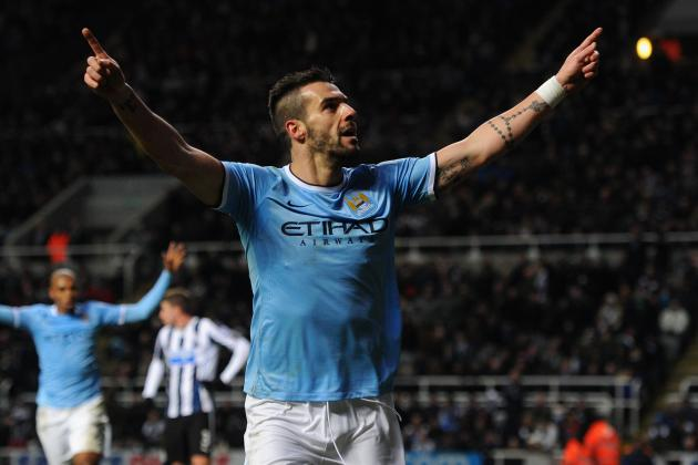 Alvaro Negredo Shouldn't Give Up on Manchester City for Atletico Madrid Transfer