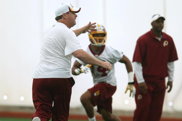 Jay Gruden Energizes Redskins