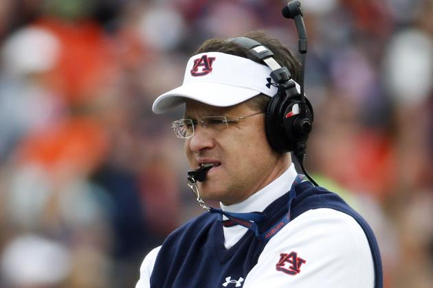 Auburn's Coaches Building New Summer Workouts Around Strength Program
