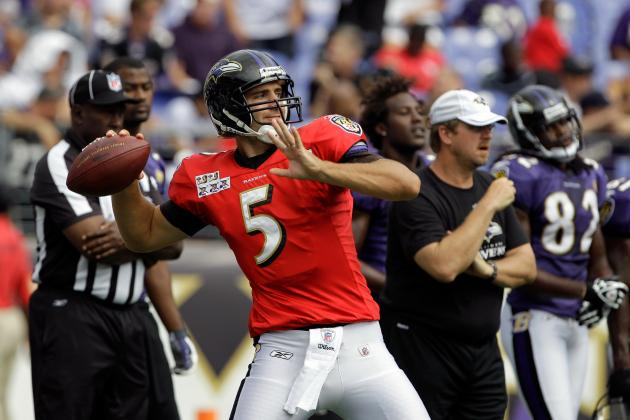 Flacco Gaining Comfort Level in New Offense