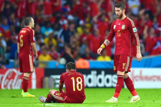 Spain's Recovery from World Cup Disaster in Brazil Will Be Swift