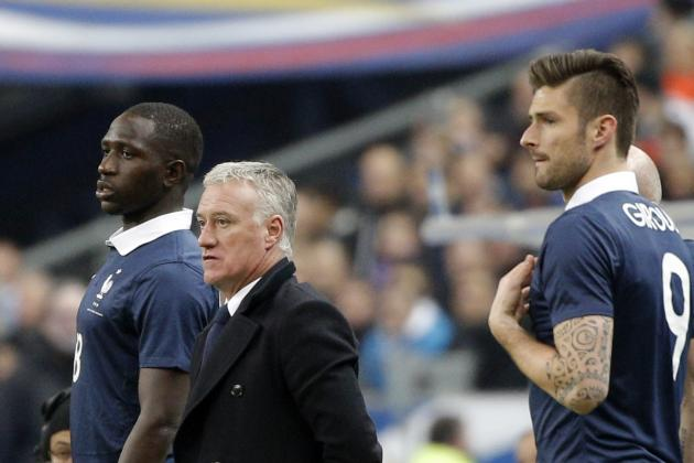 Report: Giroud, Sissoko Start; Griezmann, Pogba Dropped