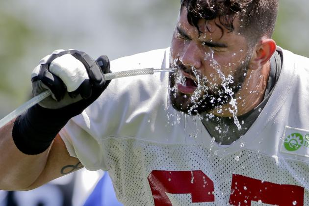 Giants OL Coach: Why Experiment with Justin Pugh?