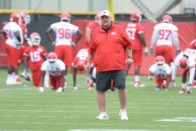 KC Chiefs Training Camp Schedule Released: Practice Starts July 24 in St. Joseph