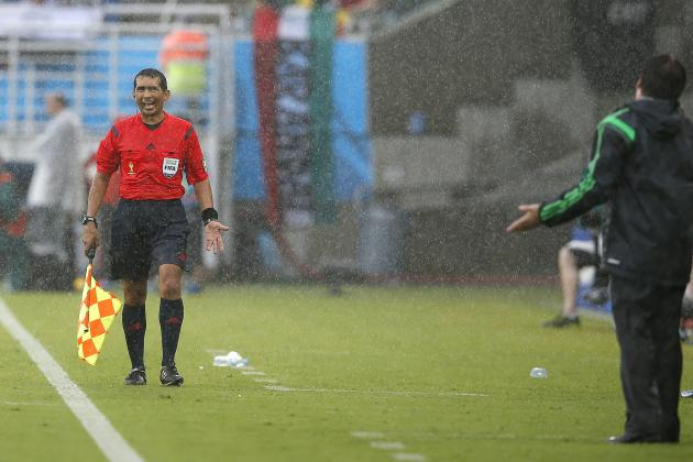 Controversial Assistant Referee Humberto Clavijo Dropped for 2014 FIFA World Cup