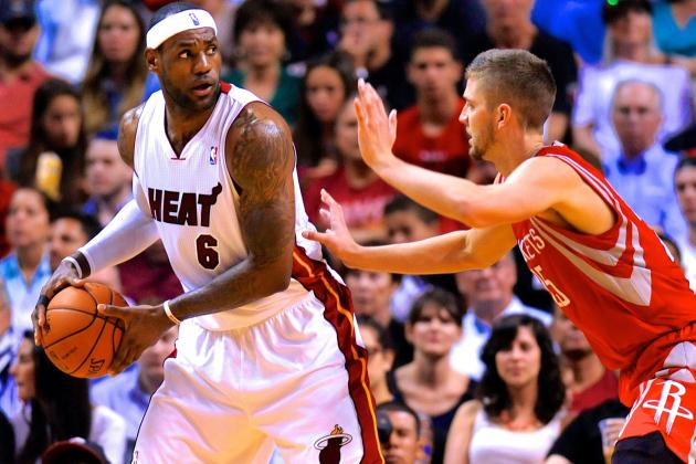 Rockets Poised to Make Texas-Sized Offers in NBA Free Agency to LeBron, Melo