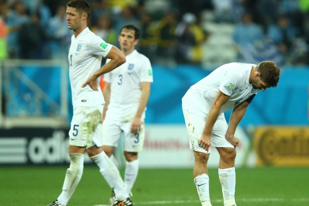 England Officially out of World Cup 2014 After Italy Lose to Costa Rica