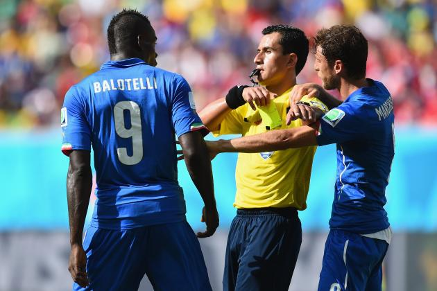 Twitter Reacts to Mario Balotelli, Andrea Pirlo's Performances vs. Costa Rica