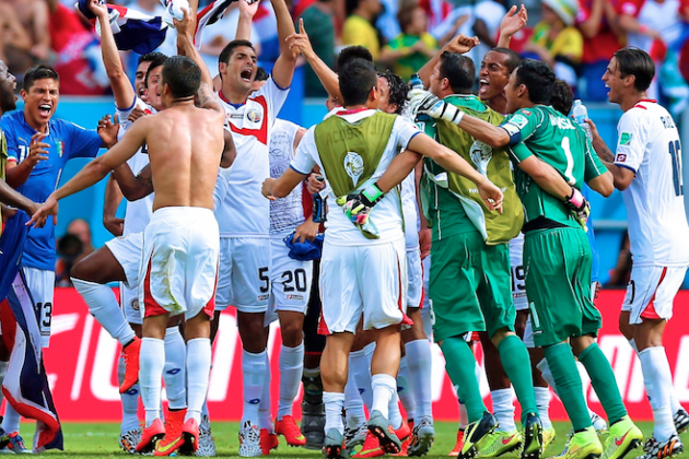 Costa Rica vs. Italy: Live Score, Highlights for World Cup 2014 Group D Game