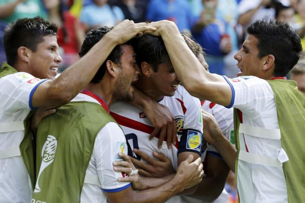 World Cup Results 2014: Tracking Final Scores, Golden Boot Contenders for Day 9