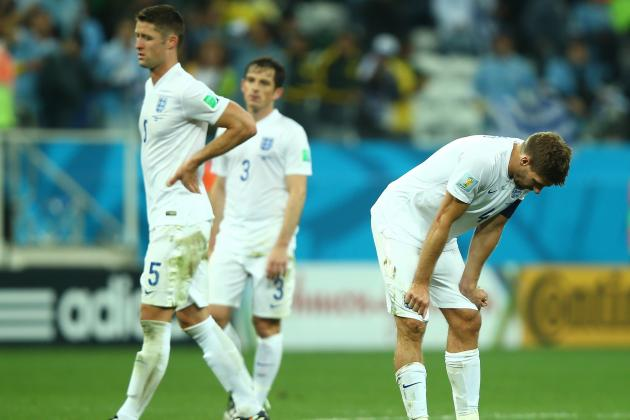 Twitter Reacts as England Are Eliminated from 2014 World Cup