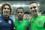 Mexico Coach Herrera Photobombs Players in Style