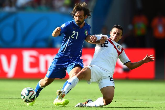 Italy vs. Costa Rica: Ticos Live Life on the Edge with High Defensive Line