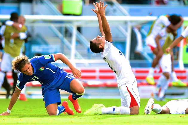 Italy vs. Costa Rica: World Cup Group D Score, Grades and Post-Match Reaction