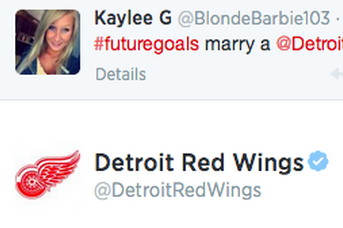 Detroit Red Wings Give Sage Life Advice to Girl on Twitter