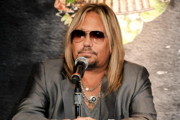 Motley Crue's Vince Neil Reportedly Approved to Build Las Vegas AFL Team