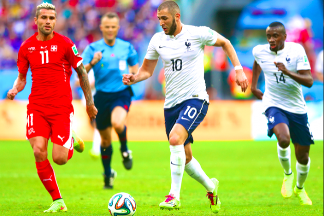 Switzerland vs. France: Deschamps' Varied, Ruthless Attack Topples the Swiss
